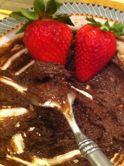 Chocolate Tahini Dip